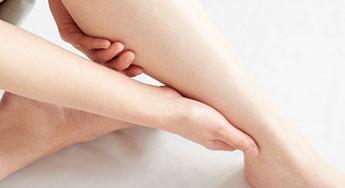 二の腕や脚のむくみ改善
