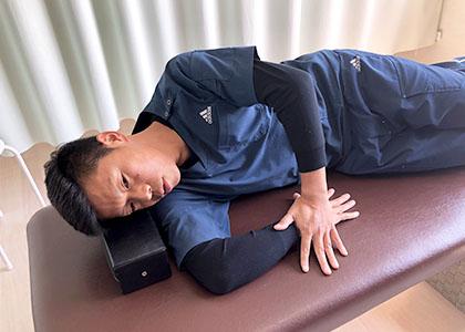 肩後方関節包 (正常)
